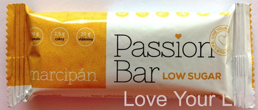 low carb PASSION BAR - Kokosová pusa 50g