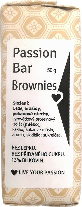 PASSION BAR - Brownies 50g
