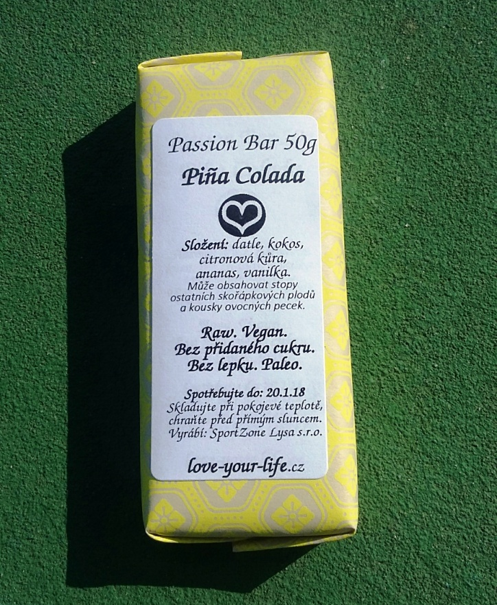 PASSION BAR - Piňa Colada 50g