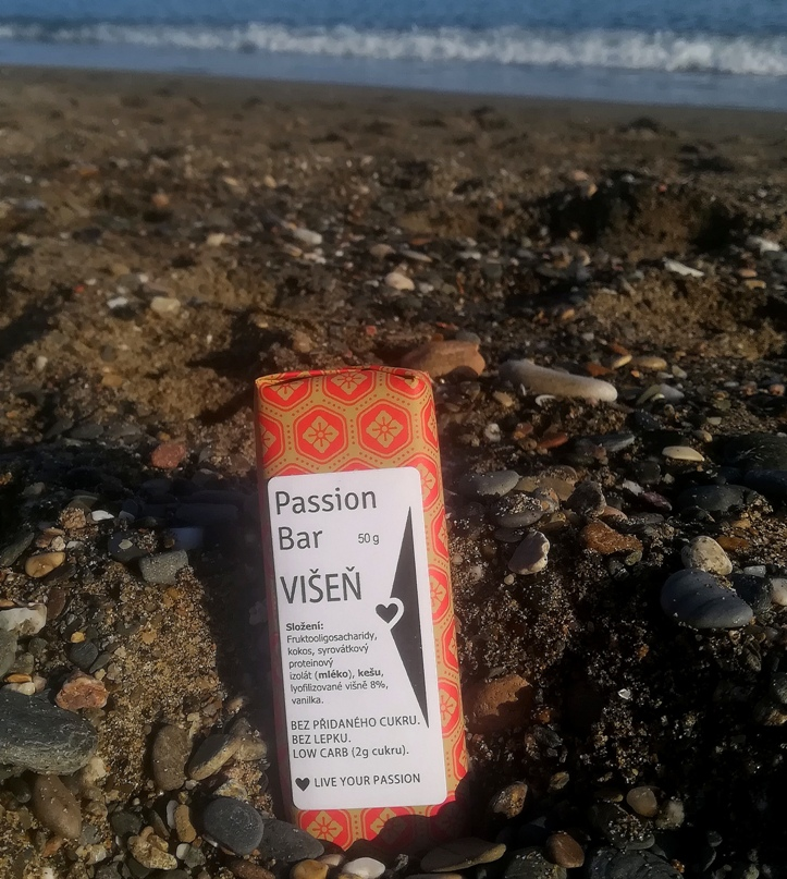 low carb PASSION BAR - VIŠŇOVÁ 50g