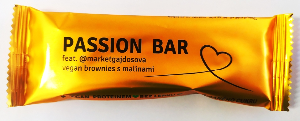 PASSION BAR VEGAN feat.@marketgajdosova Brownies s malinami
