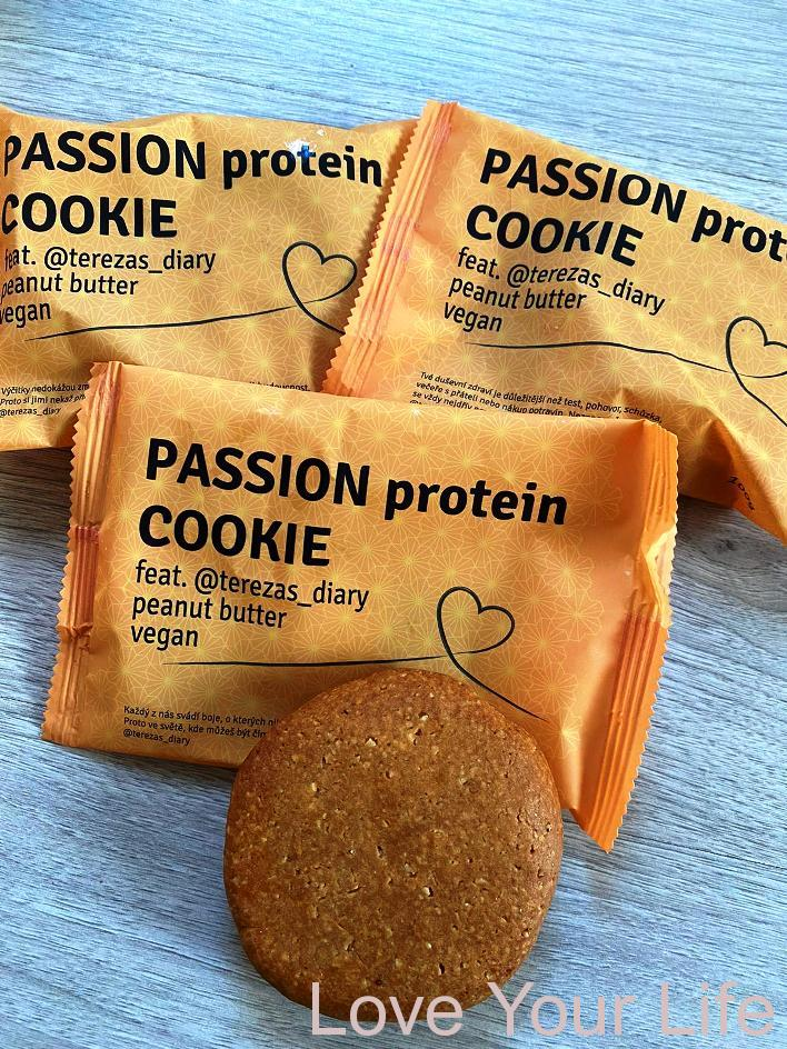 PASSION VEGAN PROTEIN COOKIE feat.@terezas_diary  100g