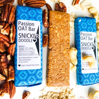 PASSION OAT BAR - SNICKERDOODLE 55g