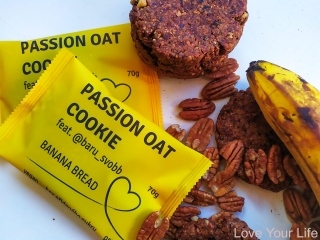PASSION BANANA BREAD OAT COOKIE feat. @baru_svobb